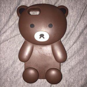 iPhone 6 teddy bear phone case